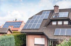 Energia solare Fotografia Stock Libera da Diritti