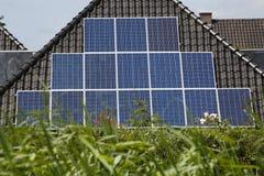 Energia solare Fotografie Stock Libere da Diritti