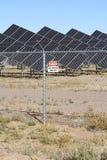 Energia solare della valle del San Luis Fotografia Stock Libera da Diritti