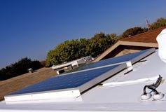 Energia solare per il vostro rv Fotografia Stock