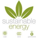 Energia sustentável Fotos de Stock