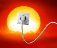 energia uwalnia Fotografia Royalty Free