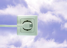 energia uwalnia Fotografia Stock