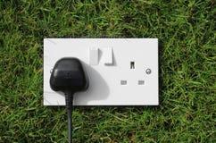 Energia verde Imagem de Stock Royalty Free
