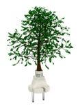 Energia verde ilustração royalty free