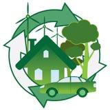 Energia verde. Fotografia Stock Libera da Diritti
