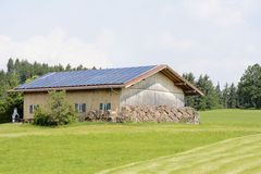 Energia verde Fotografia Stock