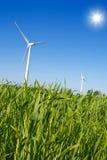Energia verde Fotografie Stock Libere da Diritti