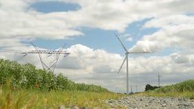 Energia verde da turbina eólica filme