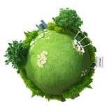 Energia verde del pianeta illustrazione di stock