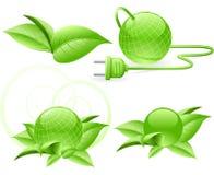 Energia verde do mundo Fotografia de Stock