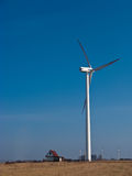 Energia verde per una casa di campagna Fotografie Stock
