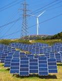Energia verde renovável Fotos de Stock Royalty Free