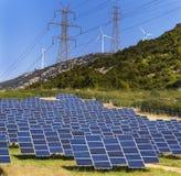 Energia verde rinnovabile Fotografia Stock