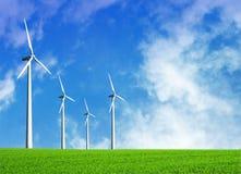 energia wiatr Fotografia Royalty Free