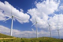 energia wiatr Obrazy Royalty Free