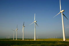 energia wiatru fotografia stock