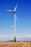 Energias eólicas Fotografia de Stock
