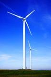Energias eólicas Fotos de Stock Royalty Free