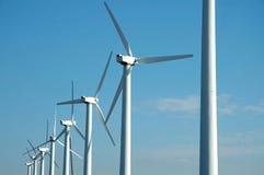 Energias eólicas Foto de Stock Royalty Free