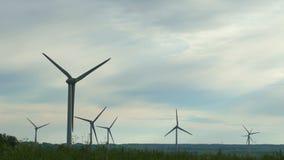 Energias eólicas, energias eólicas, turbina eólica filme