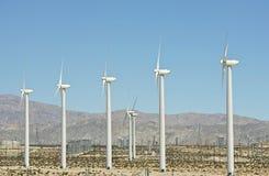 Energias eólicas - turbinas eólicas Fotos de Stock