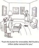Energias renováveis Imagem de Stock Royalty Free