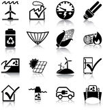 Energias renováveis e uso eficaz da energia Fotos de Stock