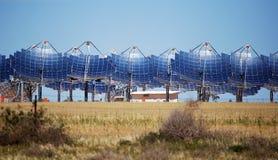 Energias solares Carwarp Austrália Fotos de Stock Royalty Free
