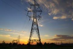 Energieübertragung Lizenzfreie Stockfotografie
