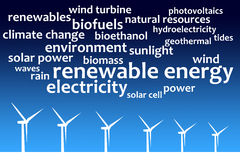 Energie Lizenzfreie Stockfotos