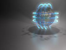 Energie - 3D Lizenzfreie Stockfotografie