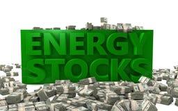 Energie-Aktien Stockfotos