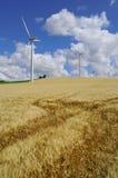 Energie auf dem Gebiet Stockfoto