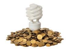 Energie - besparing Royalty-vrije Stock Afbeelding