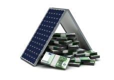 Energie - besparing vector illustratie