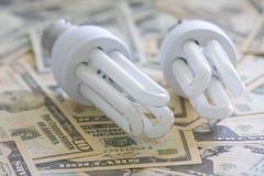 Energie - besparing Royalty-vrije Stock Afbeeldingen