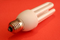 Energie - besparings gloeilamp Royalty-vrije Stock Foto