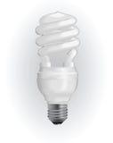 Energie - besparings gloeilamp Stock Afbeelding