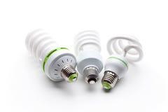 Energie - besparings gloeilamp Stock Fotografie