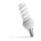 Energie - besparingsBol, low-energy lightbulb Royalty-vrije Stock Afbeelding