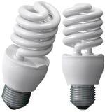 Energie - besparingsbollen stock illustratie