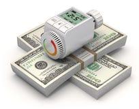 Energie - besparingsConcept Royalty-vrije Stock Afbeelding