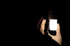 Energie - besparingslamp Stock Afbeeldingen