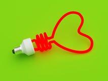 Energie - besparingslamp Stock Foto's