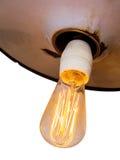 Energie - besparingslamp, symboolfoto Royalty-vrije Stock Foto