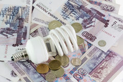 energie - besparingslampen royalty-vrije stock afbeelding