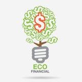 Energie-betriebliches Umfeld Lizenzfreies Stockbild