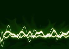 Energie bewegt Hintergrund wellenartig Stockbild