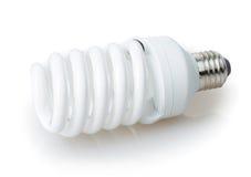 Energie - de Gloeilamp van de besparing stock afbeeldingen